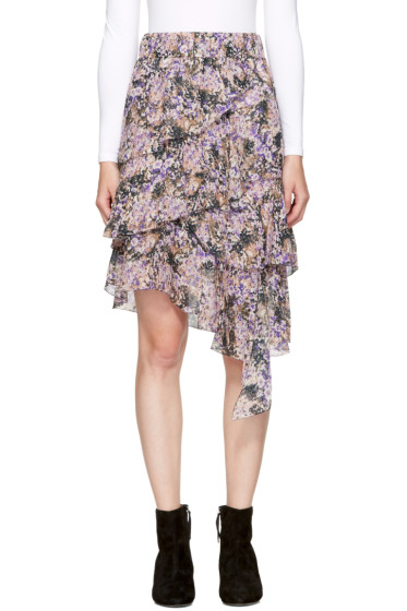 Isabel Marant Etoile - Purple Jeezon Miniskirt