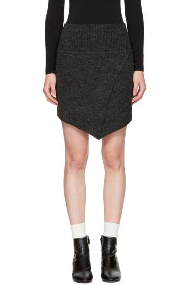 Isabel Marant Etoile - Black Blithe Miniskirt