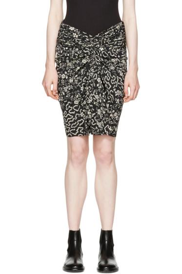 Isabel Marant - ブラック ジーニー スカート