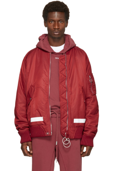 Off-White - Red Arrows Bomber Jacket