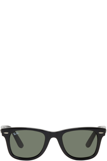 Ray-Ban - Black Wayfarer Ease Sunglasses