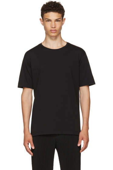 Issey Miyake Men - Black Basic Bio T-Shirt