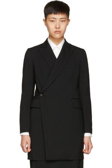 Y's - ブラック K ロング コート