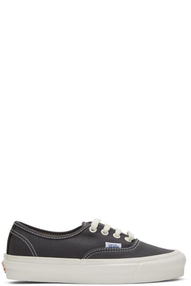 Vans - Grey Authentic LX Sneakers