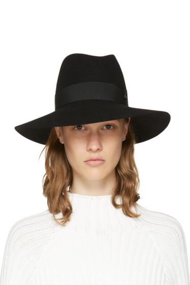 Maison Michel - Black Felt Timeless Kate Fedora