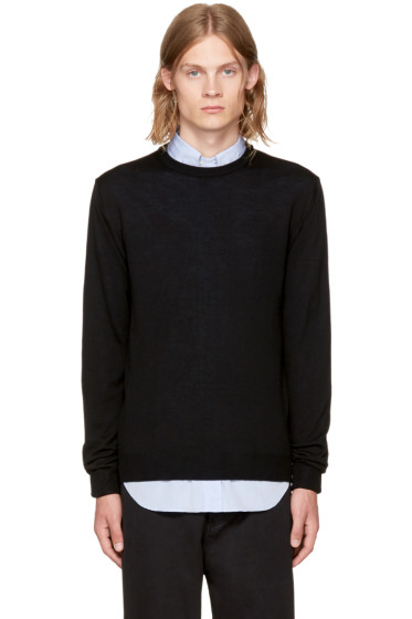 Éditions M.R  - Black Stanislas Sweater