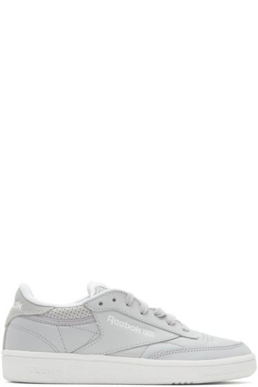 Reebok Classics - Grey Club C 85 Perforated Sneakers
