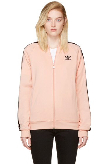 adidas Originals - Pink Superstar Track Jacket