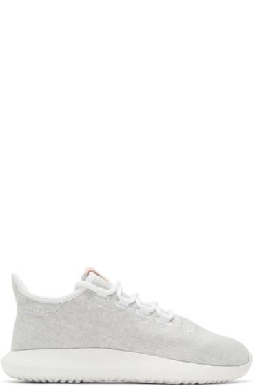adidas Originals - Grey Tubular Shadow Sneakers