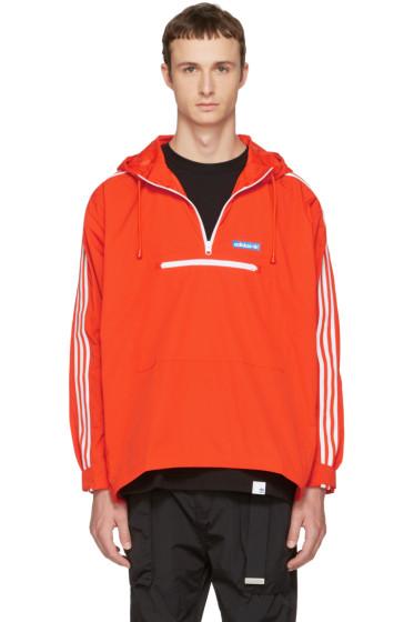 adidas Originals - Orange Tennoji Windbreaker Jacket