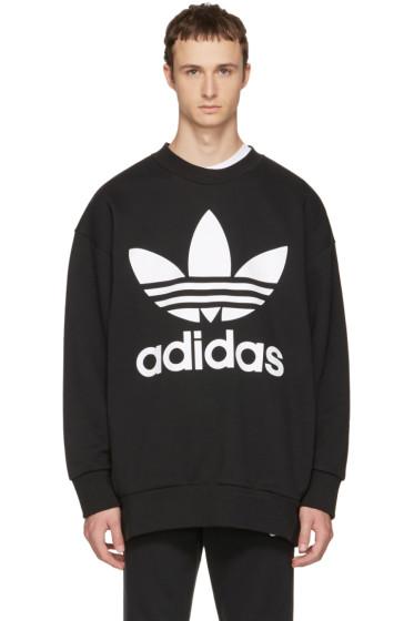 adidas Originals - Black Adicolor Sweatshirt