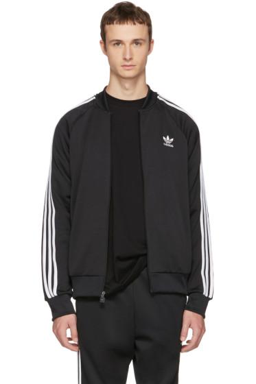 adidas Originals - Black Superstar Track Jacket