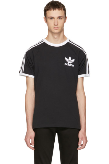 adidas Originals - Black & White California T-Shirt