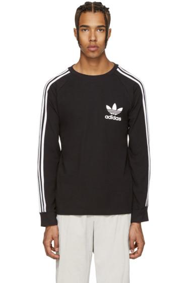 adidas Originals - Black Piqué T-Shirt