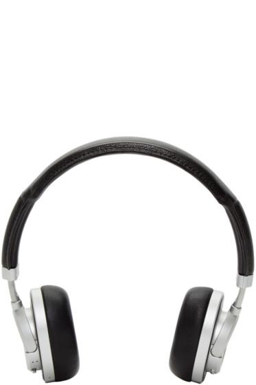 Master & Dynamic - Black & Silver Wireless MW50 Headphones