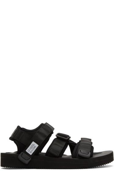 Suicoke - Black Kisee-V Sandals