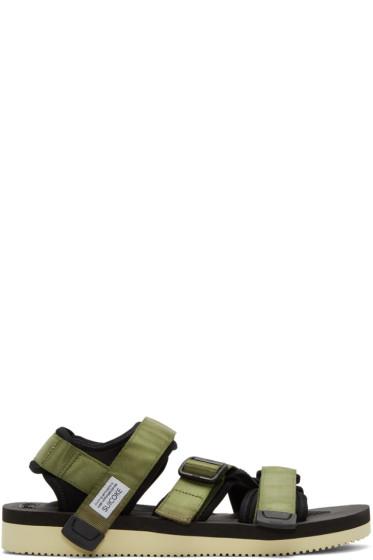 Suicoke - Green Kisee-V Sandals