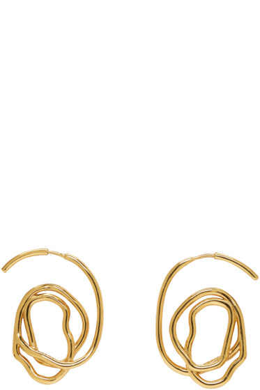 Ellery - Gold Memphis Earrings