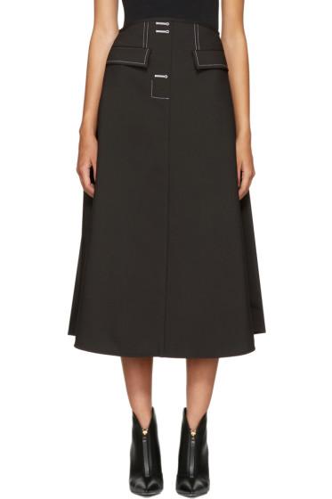 Ellery - Black Eunice Skirt
