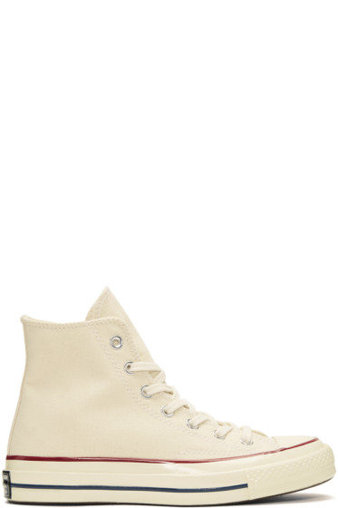 Converse - Off-White Chuck Taylor All-Star 1970's High-Top Sneakers