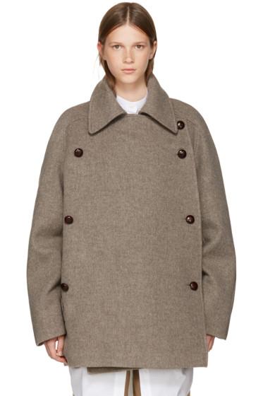 Nehera - Brown Merino Colina Coat