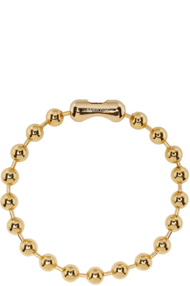 Ambush - Gold Classic Chain 4 Choker