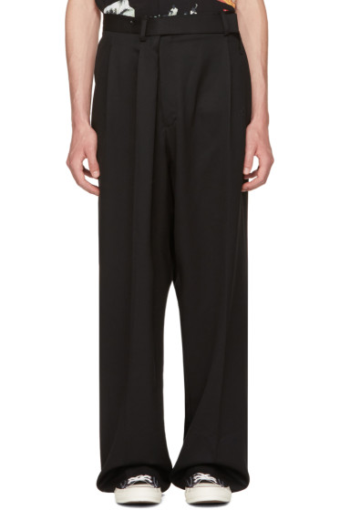 Ambush - Black Overwrap Suit Pants