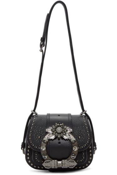 Miu Miu - Black Mini Dahlia Bag