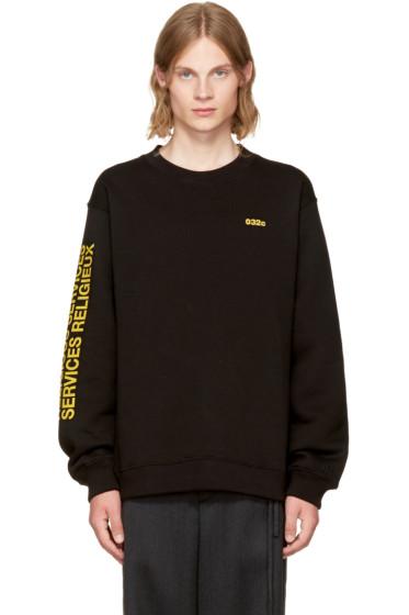 032c - SSENSE Exclusive 'Religious Services' Sweatshirt