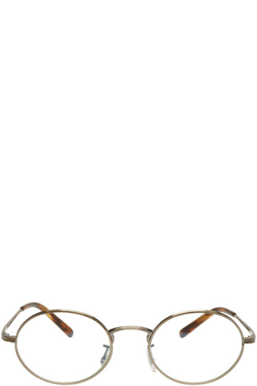 Oliver Peoples The Row - Gold Empire Suite Glasses