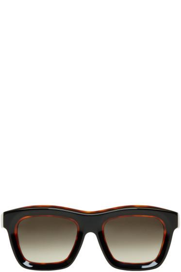 Kuboraum - Tortoiseshell Maske C7 Sunglasses