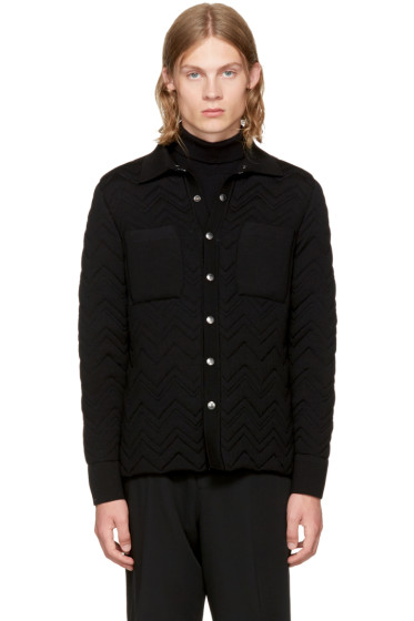 Missoni - Reversible Black Chevron Jacket