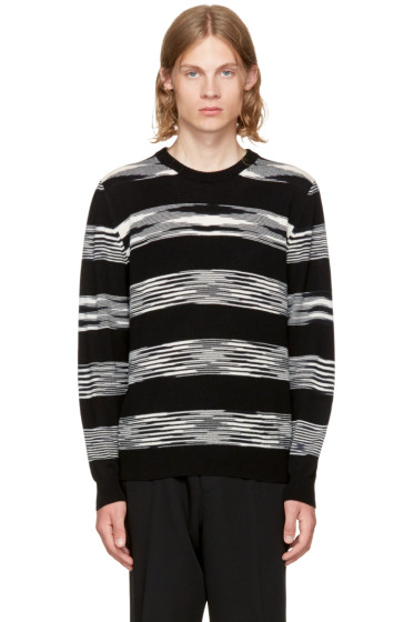 Missoni - Black & White Crewneck Sweater