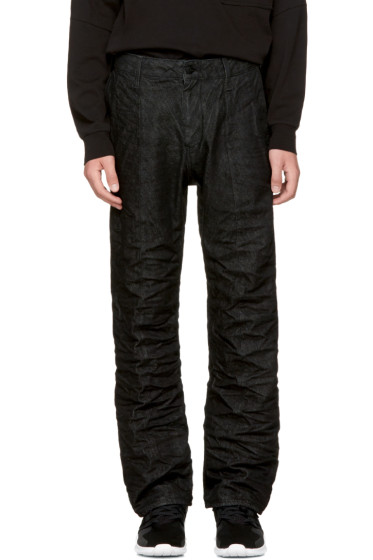 Raw Research - Black Lanc Chino Jeans