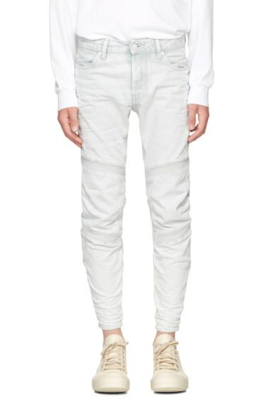 Raw Research - Blue Motac 3D Jeans