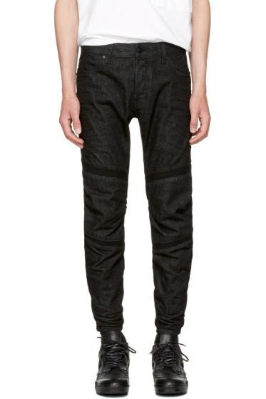 Raw Research - Black Motac 3D Jeans