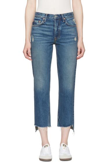 Grlfrnd - Blue Helena Jeans