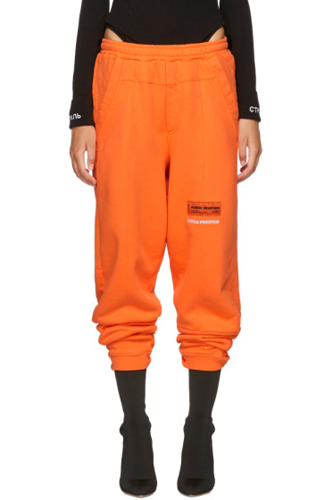 Heron Preston - Orange HP Sweatpants