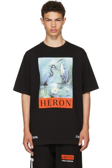 Heron Preston - Black Heron T-Shirt