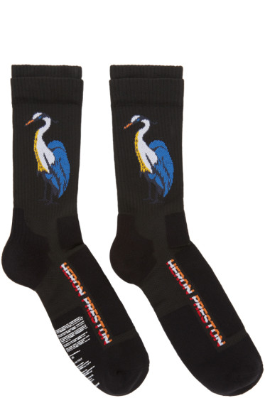 Heron Preston - Black Heron Socks