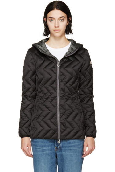 Colmar - Black Down Zip-Up Jacket