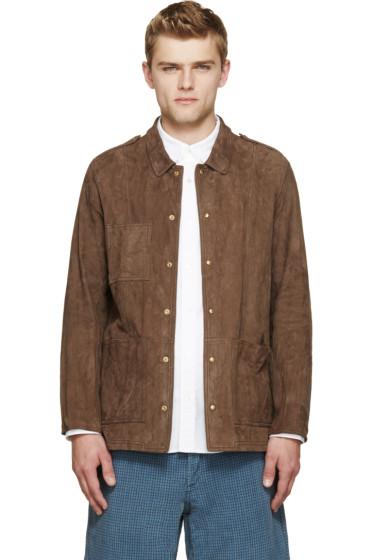 Visvim - Brown Nubuck Sundance Jacket