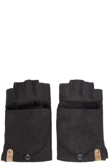 Mackage - Black Shearling Orea Gloves