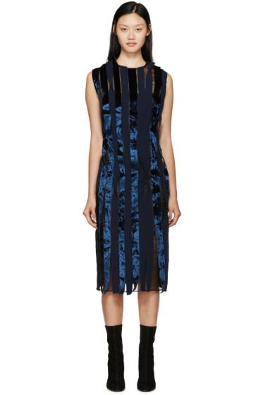 Rejina Pyo - Navy & Black Shauna Seaweed Dress