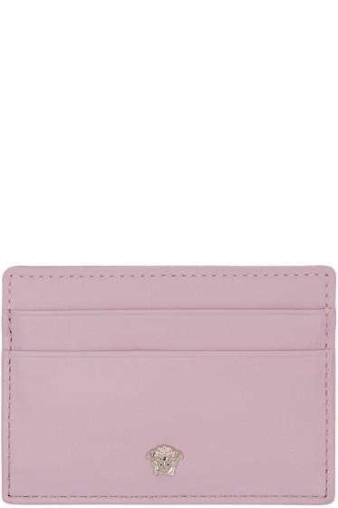 cd166758ee5b Versace Pink Medusa Card Holder from SSENSE - Styhunt