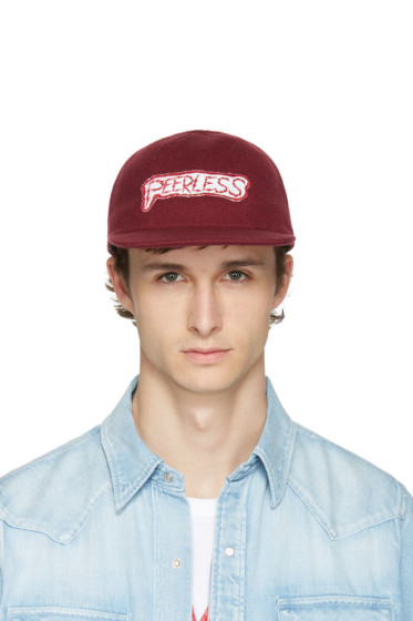 Visvim - Burgundy 'Peerless' Cap