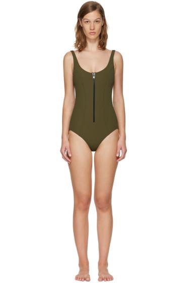 Lisa Marie Fernandez - Green Jasmine Swimsuit