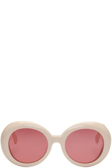 Gentle Monster - Off-White 'Red Pocket' Sunglasses