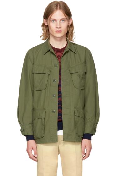 Wacko Maria - Khaki Type 5 Fatigue Jacket