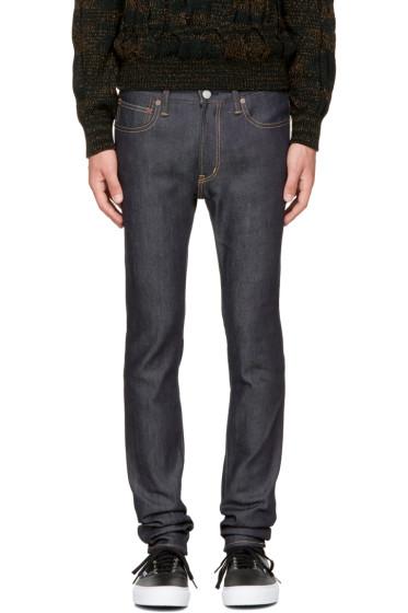 Wacko Maria - Indigo Skinny Stretch Jeans